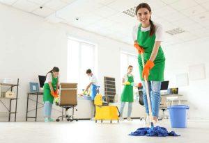 Lancement d'une entreprise de nettoyage