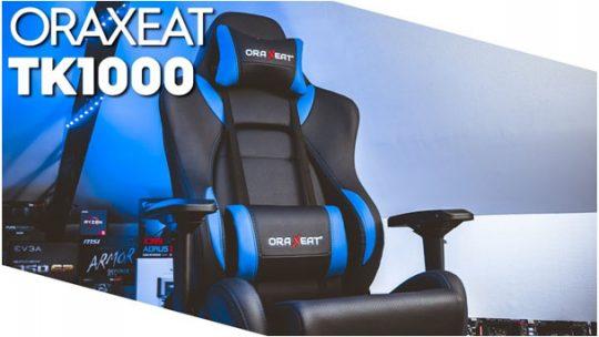 Faut-il craquer pour le fauteuil gaming haute gamme Oraxeat TK1000 ?