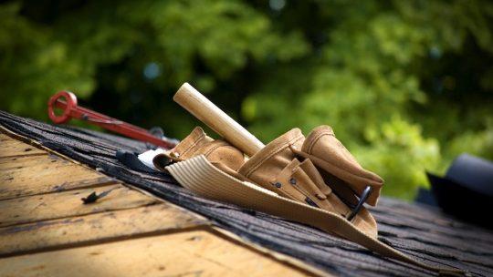 Demoussage de la toiture